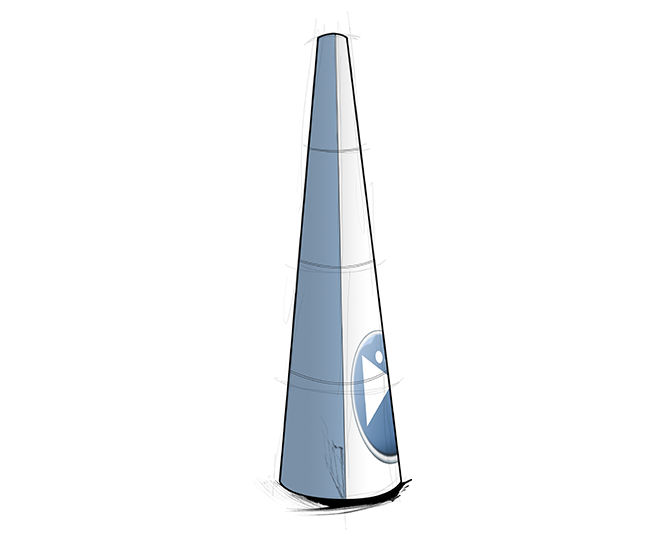 Faster displays Cone